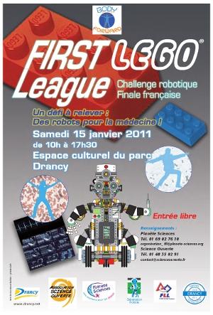 Affiche FLL 2010 2011