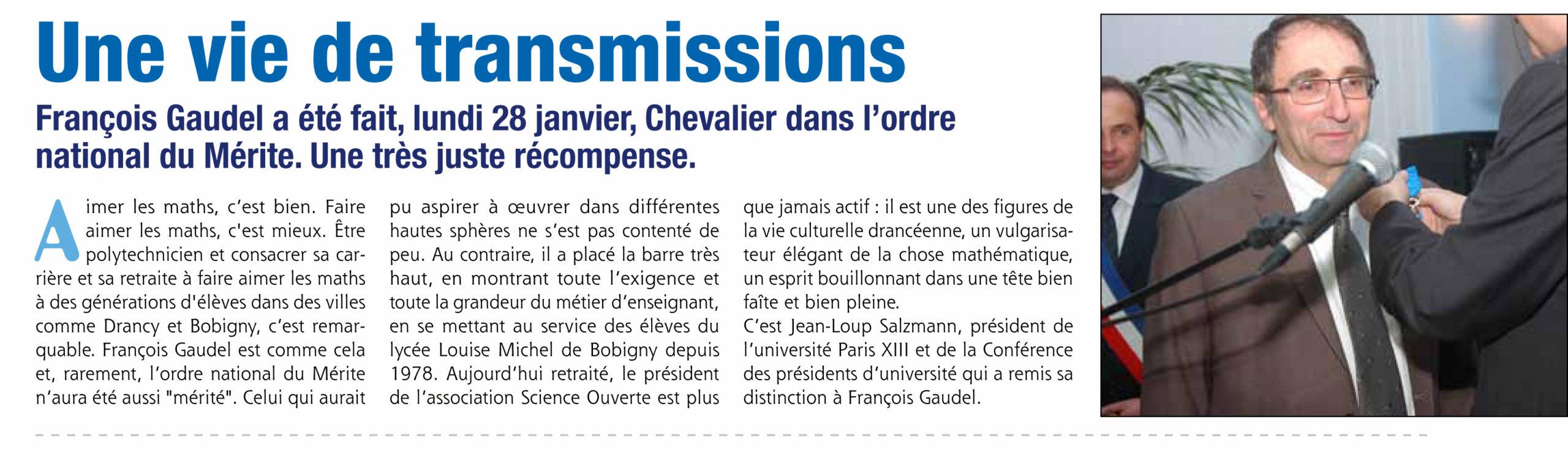 Cérémonie médaille F Gaudel 28012013