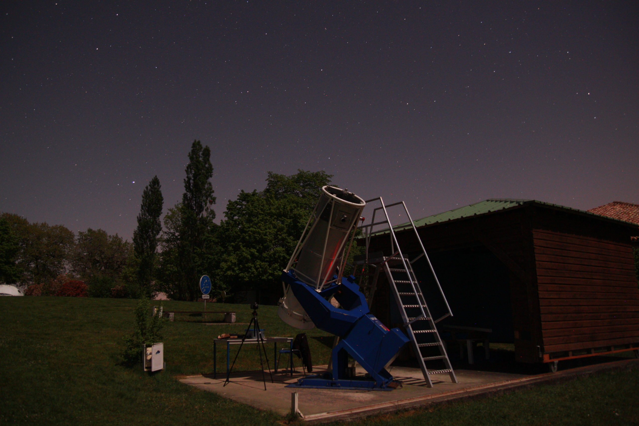 Nuits d'observations